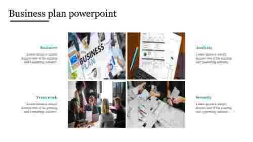 Portfolio business plan powerpoint