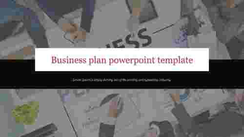 Portfolio business plan powerpoint template