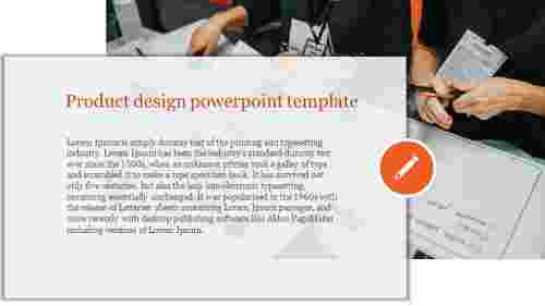 Planning product design powerpoint template