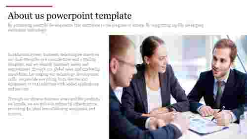 About us powerpoint template for business