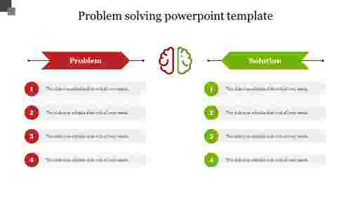 Problem solving powerpoint template for business