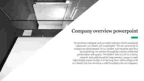 company overview powerpoint - portfolio design