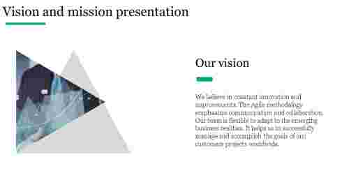 Vision and mission presentation for business