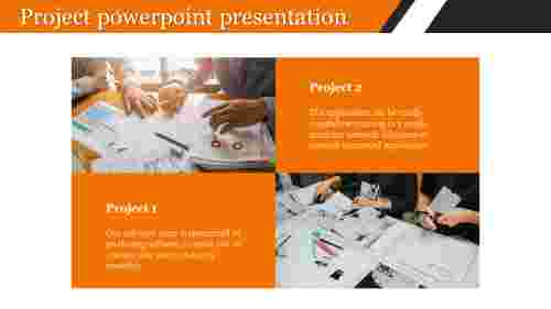 Project powerpoint presentation for company