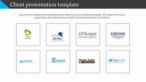 Clientpresentationtemplatewithcompanylogos