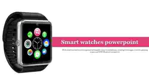 Smartwatchespowerpointtemplateforintroduction
