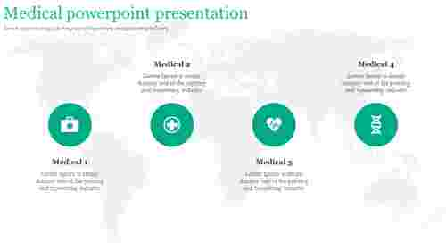 A four noded medical powerpoint presentation