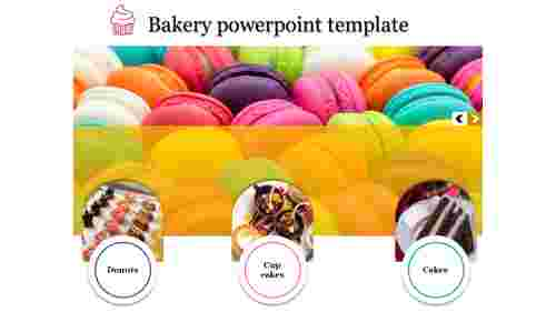 A three noded bakery powerpoint template