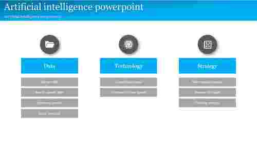 A three noded artificial intelligence powerpoint