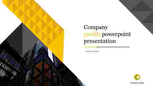 A one noded company profile powerpoint presentation