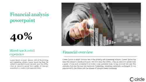 A two noded financial analysis powerpoint