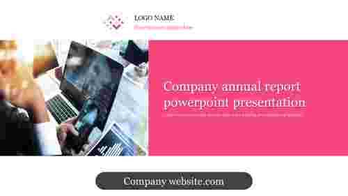 A one noded company annual report powerpoint presentation