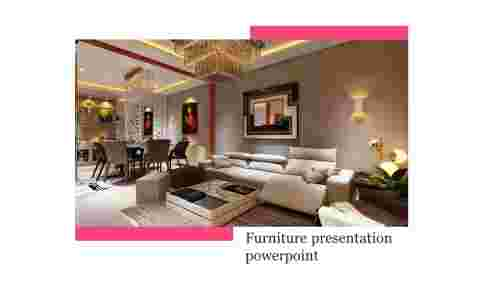 A one noded furniture presentation powerpoint
