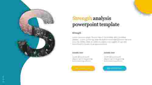 A one noded Strength analysis powerpoint template