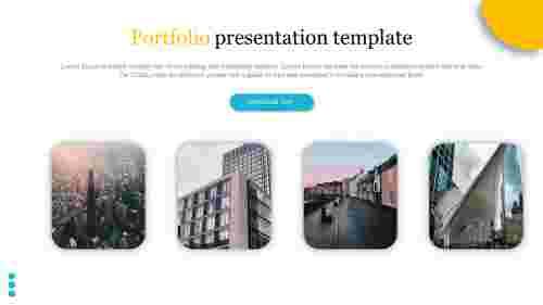A four noded portfolio presentation template