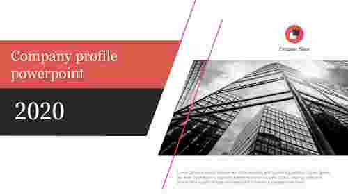 A one noded company profile powerpoint