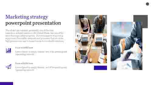 Marketing strategy powerpoint presentation - portfolio model
