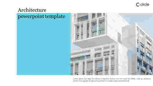 Creative architecture powerpoint template