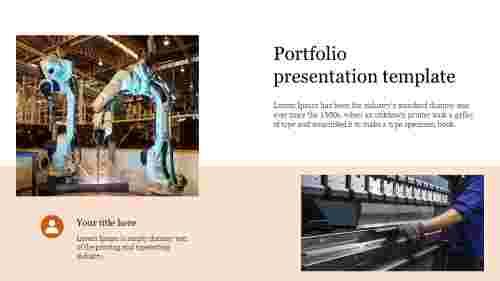 Visionary Portfolio presentation template