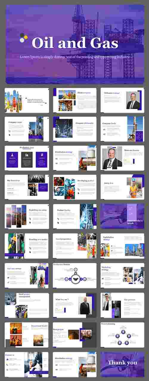 Best Oil and gas industry powerpoint template