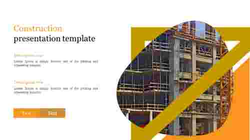Best construction presentation template