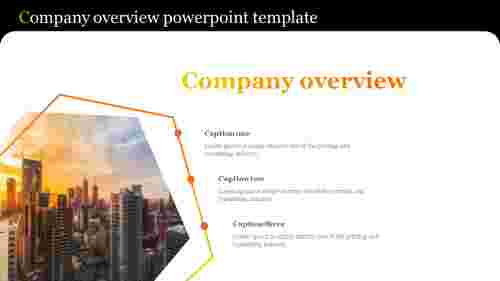 Creative company overview powerpoint template
