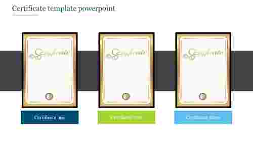 certificate template powerpoint-Style 1