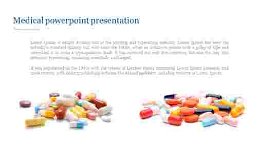 Medical powerpoint presentation with medicine