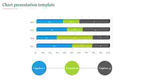 Stacked bar chart presentation template