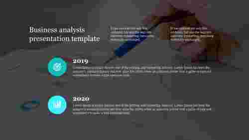 Visionary Business analysis presentation template
