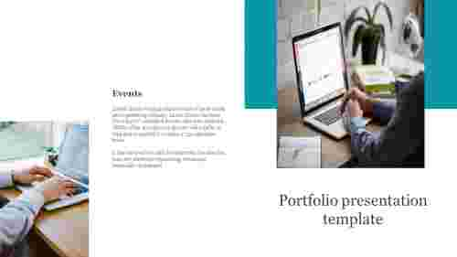 Best portfolio presentation template