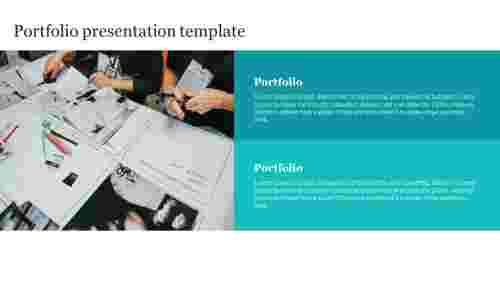 Planning portfolio presentation template