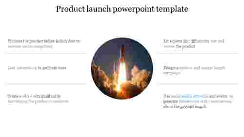 Portfolio product launch powerpoint template