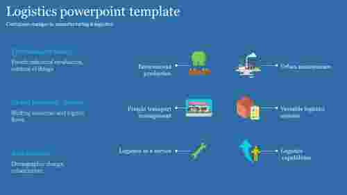 Best logistics powerpoint template