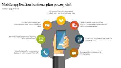 Best Mobile application business plan powerpoint