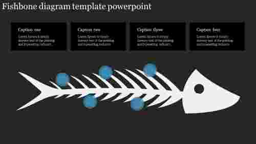 Best Fishbone diagram template powerpoint