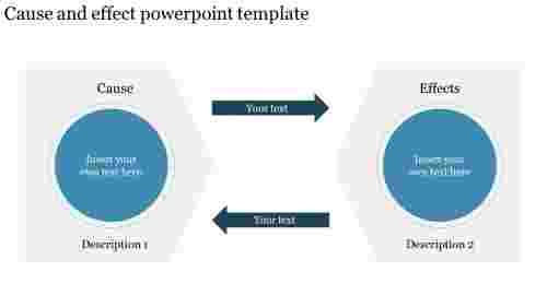 BestCauseandeffectpowerpointtemplateforpresentation