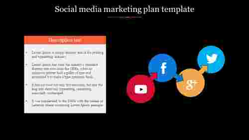 Socialmediamarketingplantemplatewithicons