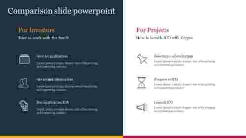 Best comparison slide powerpoint presentation
