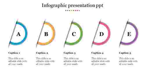 Innovative infographic presentation PPT