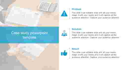 Case study powerpoint template for presentation