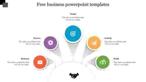 Free business powerpoint templates with icons