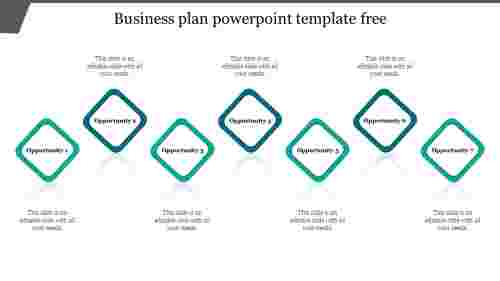 Business plan powerpoint template free presentation
