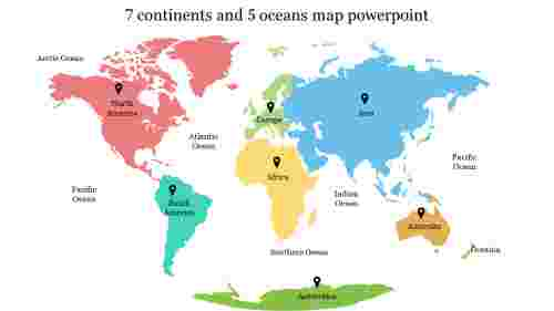 Seven%20continents%20and%20Five%20oceans%20map%20PowerPoint%20Slide