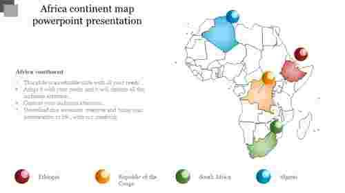 BestAfricacontinentmappowerpointpresentation