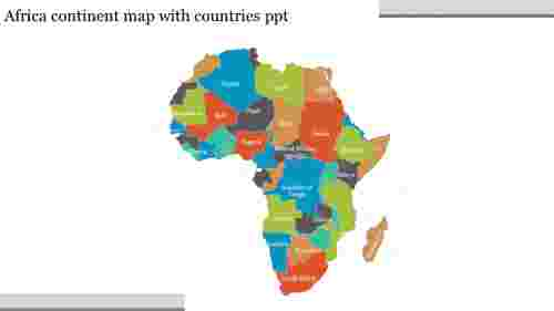 continentmapwithcountriesPPTtemplate