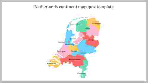 continent map quiz template