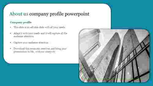 Editable about us company profile powerpoint
