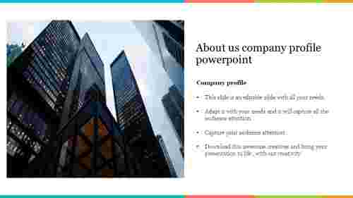 Best about us company profile powerpoint template