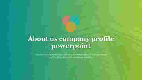 about us company profile powerpoint for title presentation